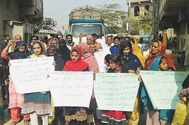 AT holds protests in several Sindh towns against anti-women customs