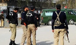 Police wing for security duty in Quetta on the cards