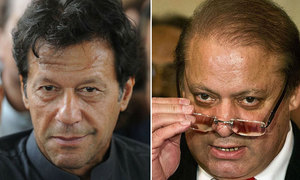 Neither PTI, nor PML-N seem interested in a positive message for voters