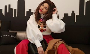 What we did and didn't like from Ayesha Omar's New York Fashion Week looks