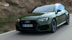 Testing Audi's new high-performance RS4 Avant