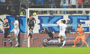 Marseille strengthen hold in second place after Bordeaux win