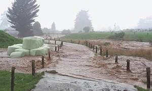 Large swathes flooded as storm pummels New Zealand