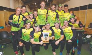 Australia prevail in rain-hit  final to claim top T20 ranking