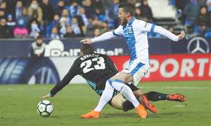 Real rise to third after beating Leganes