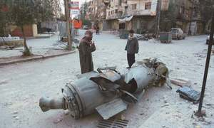 Ghouta bombing won't stop as army keeps up pressure