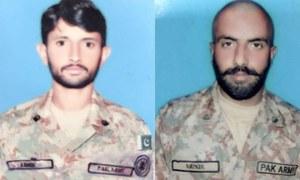 ایل او سی: بھارتی فوج کی بلااشتعال فائرنگ سے پاک فوج کے دو جوان شہید