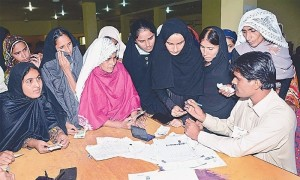 ملک میں مرد اور خواتین ووٹرز کے فرق میں اضافہ