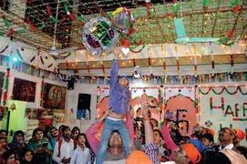 Holi celebrated in Rawalpindi