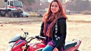 These 4 female motorcyclists speed past stereotypes in Pakistan every day