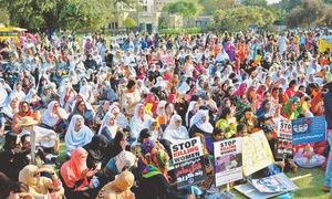 Inclusive spirit marks Karachi's Aurat March