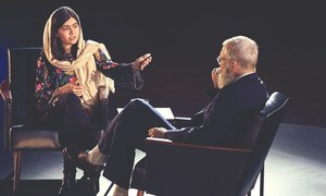 Malala talks to Letterman about education, attempt on life