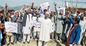 Protests in Dir, Khar against delimitation
