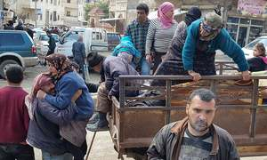 Turkish-led assault on Syria's Afrin displaced 30,000 in a day
