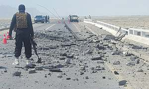 THE ROAD OUT OF GWADAR