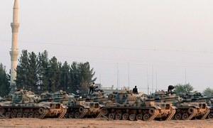شام: کئی روز کی بمباری کے بعد فوج کا حموریہ پر قبضہ