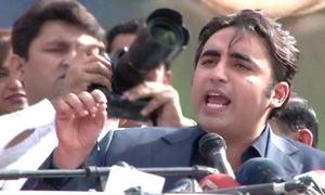 Bilawal says PPP stopped Nawaz's 'Zia alliance' in Senate elections