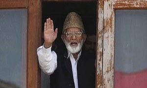 Geelani steps down as leader of Kashmir group