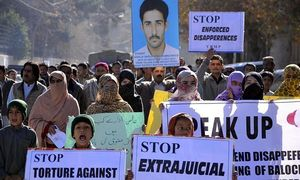 Rights group calls on Pakistan to end enforced disappearances