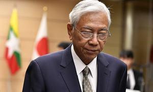 آنگ سان سوچی کے وفادار میانمار کے صدر کیاؤ مستعفی