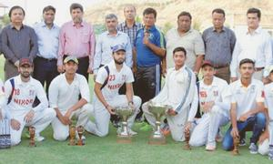 Ton-up Mubashir powers NCR CET to Bhaty T20 crown