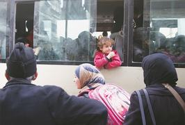 Syrian rebels start leaving enclave in Ghouta