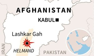 Car bomb attack in Afghanistan's Helmand province kills at least 13