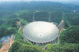 China's giant radio telescope to reach even farther