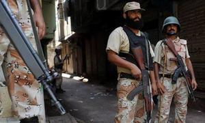 Militant threat in Punjab