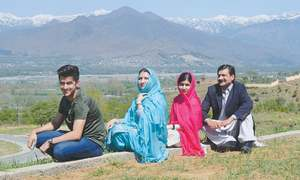 Five years on, Malala returns to hometown in Swat
