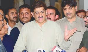 Sindh properly pleaded its case at Irsa, CCI forums: Murad