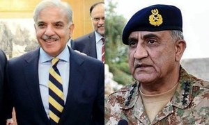 Shahbaz showers praise on 'straightforward' COAS