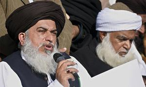 Lahore sit-in to continue until demands are accepted: Khadim Hussain Rizvi