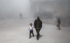 40 killed in gas attack near Syrian capital: rescuers, medics