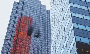Fire at Trump Tower leaves one dead