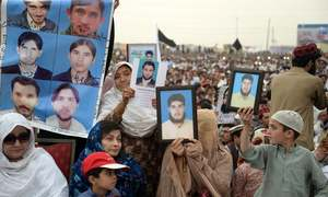 Peshawar rally calls for release of missing people