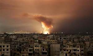 Syria blames Israel for deadly strikes on airbase