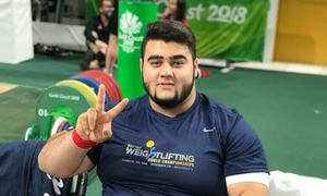 Nooh Dastagir Butt wins Pakistan's second bronze medal of Commonwealth Games 2018