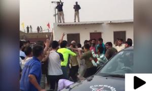 خانیوال: پولیس اہلکاروں پر تشدد کرنے والے 5 چینی انجینئرز ملک بدر