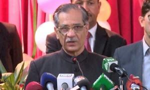 No politics acceptable in social sectors of Balochistan: CJP