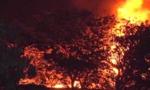 سٹی کورٹ کراچی میں آتشزدگی، اہم ریکارڈ جل کر خاکستر