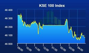 PSX dips on week's close as benchmark index loses 260 points