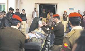 Two injured by Indian firing in AJK