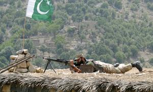 کرم ایجنسی: دہشت گردوں کا سرحد پار سے حملہ، 2 سیکیورٹی اہکار شہید