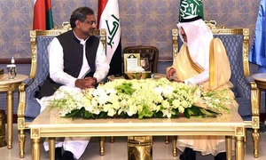 PM Abbasi in Saudi Arabia to inspect joint exercise of Islamic military alliance