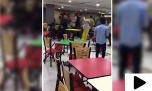 سیالکوٹ کی یونیورسٹی میں طلبہ تنظیموں میں جھگڑا