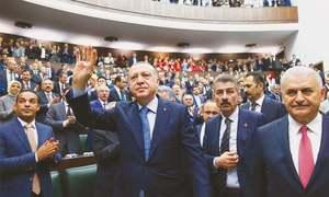 ترکی: ملک میں نافذ ایمرجنسی میں مزید توسیع کا امکان