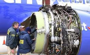 Woman killed after jet engine fails on New York-Dallas flight
