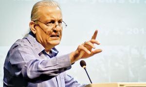Rabbani urges consensus among parties on caretaker prime minister