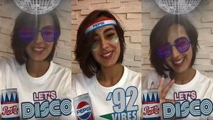 Pepsi takes us back to the 80s and 90s with these Facebook AR filters